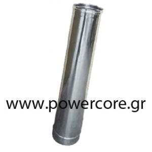 CHIMNEY INOX 1m Φ80 KI100