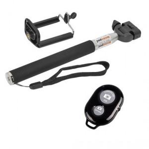 Monopod Selfie Stick με χειριστηριο Bluetooth Z07-1 για action cameras