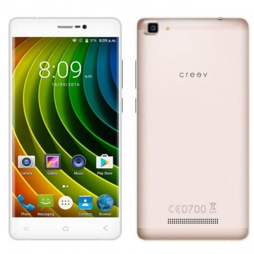 CRYPTO CREEV MARK V PLUS ROSE GOLD QUADCORE 1280x720 2GB/16GB 3000mAh W006986