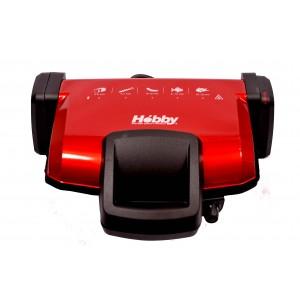 Τοστιερα 6 θεσεις κεραμικη τοστ spicy red Hobby TS 440