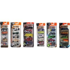 MATCHBOX CARS - SET OF 5  (C1817)