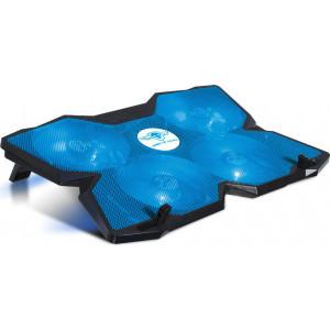 SPIRIT OF GAMER ΒΑΣΗ COOLER LAPTOP ΕΩΣ 17.3'' AIRBLADE 500 BLUE SOG-V500BL