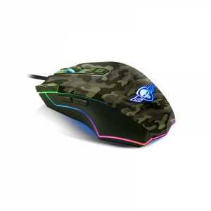 SPIRIT OF GAMER PRO ELITE M50 ARMY EDITION GAMING MOUSE DPI 4000 MAX (S-EM50A)