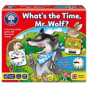 ORCHARD TOYS - WHAT'S THE TIME MR WOLF