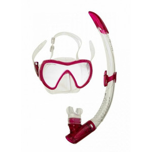 Σετ μάσκα κατάδυσης και αναπνευστήρας Combo Visionflex Midi Lx 108980