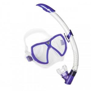 Σετ μάσκα κατάδυσης και αναπνευστήρας Combo Visionflex Lx 111410