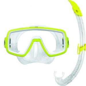 Σετ μάσκα κατάδυσης και αναπνευστήρας Combo Planet Junior Lx 111550