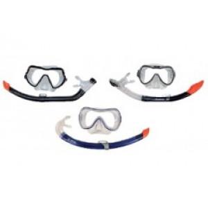 Σετ μάσκα κατάδυσης και αναπνευστήρας Duo plus 200 Jr 301360