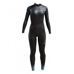 Γυναικεία ολόσωμη στολή κολύμβησης AQUA SKIN 0.5-1mm 409.260