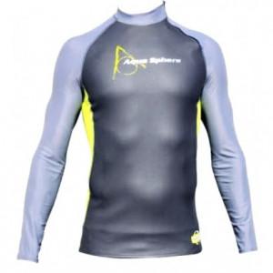 Mακρυμάνικο ανδρικό μπλουζάκι κολύμβησης TOP MEN 0.5-1mm 409.430