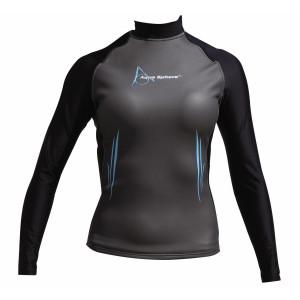 Mακρυμάνικο γυναικείο μπλουζάκι κολύμβησης TOP LADY LONG 0.5-1mm 409.500