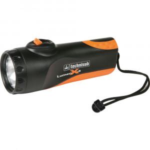 Φακος καταδυσης Lumen X6 Techisub πορτοκαλι 510940