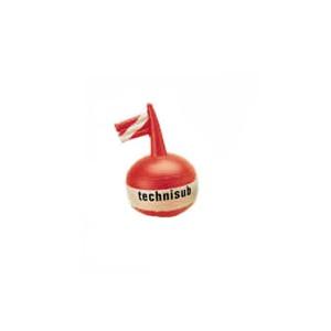 Στρογγυλή κόκκινη σημαδούρα από την technisub 515.080