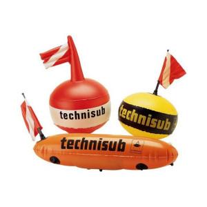 Σχήμα τορπίλης σημαδούρα από την technisub 516.100
