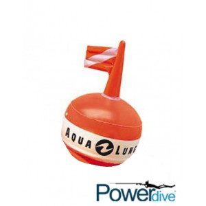 Στρογγυλή πορτοκαλί σημαδούρα από την Aqua Lung 551150