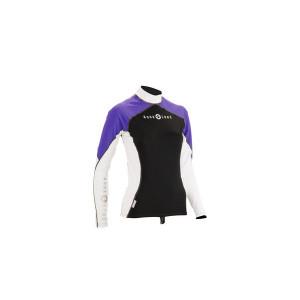 Μακρυμάνικο γυναικείο μπλουζάκι Top Lycra από την Aqua lung 660314
