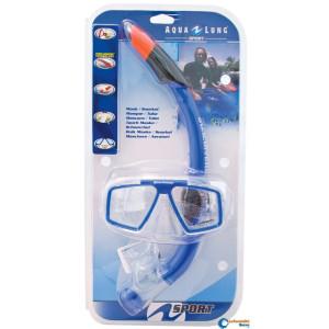 Σετ μάσκα κατάδυσης και αναπνευστήρας COZUMEL και SEABREZE 906009
