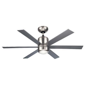 """CEILING FAN 110CM 44 """"6 PRIMO L4415 SILVER WINGS WITH REMOTE CONTROL"""