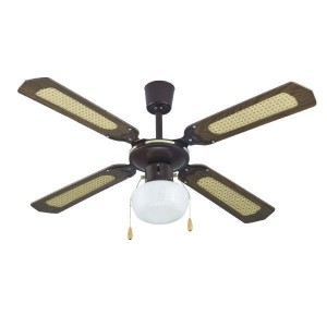 CEILING FAN 42 105CM 4 BLADES PRIMO WS42-4CL BROWN 800276