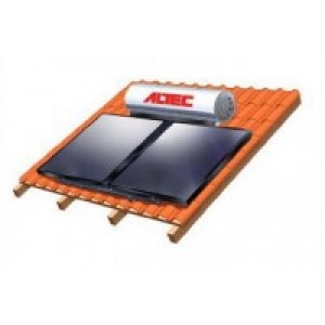 SOLAR WATER HEATER ALTEC 300/4/RF Double action tile