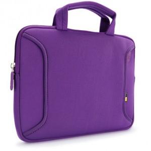 PURPLE NETBOOK BAG WITH HANDLE CASE LOGIC LNEO-10 P