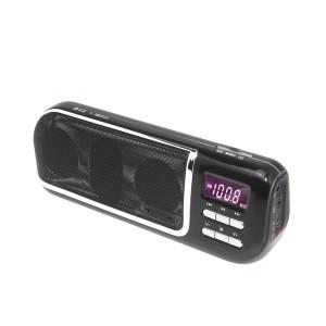 ΦΟΡΗΤΟ ΡΑΔΙΟ/ MEDIA PLAYER ΜΕ SD ΚΑΙ USB F&U PMP21410