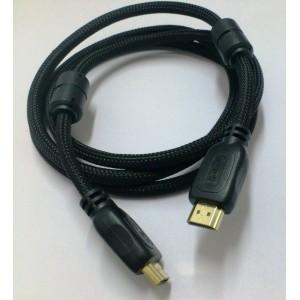 ΚΑΛΩΔΙΟ HDMI 3D ΥΨΗΛΗΣ ΤΑΧΥΤΗΤΑΣ ΜΕ ETHERNET,1.5m, HDM9915
