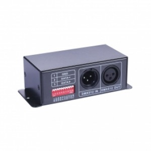 DMX CONTROLLER FOR RGB STRIPS/ LAMPS LED SPACE LIGHTS DC-15-1
