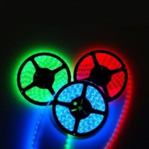 ΑΔΙΑΒΡΟΧΗ LED ΤΑΙΝΙΑ RGB IP65/ 12V 7,2W LED SPACE LIGHTS LS-14-11