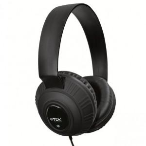 Μάυρα Ακουστικά DJ Style TDK MP100