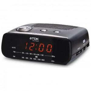 Clock Radio AM/ FM TDK TCC-3121