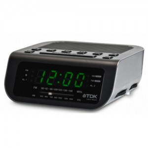 Clock Radio AM/ FM TDK TCC-3310