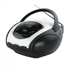 Boombox CD/ USB with AM/ FM Radio TDK TBC-8717
