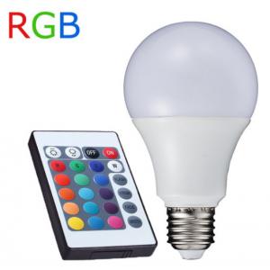 ΛΑΜΠΤΗΡΑΣ LED E27 RGB + CONTROLLER 7,5 WATT 3000 W.W Φ60Χ118 MM