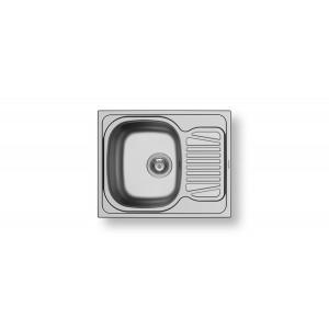 PYRAMIS ΝΕΡΟΧΥΤΗΣ ΑΝΟΞΕΙΔΩΤΟΣ SPARTA (62 X 50) 1B 1D ΣΑΤΙΝΕ 100125201