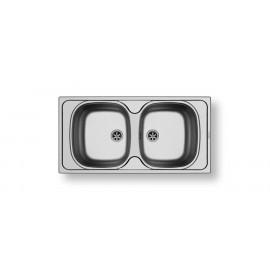 PYRAMIS ΝΕΡΟΧΥΤΗΣ ΑΝΟΞΕΙΔΩΤΟΣ E33/33 (86 X 43.5) ΣΑΤΙΝΕ 100150801