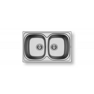 PYRAMIS ΝΕΡΟΧΥΤΗΣ ΑΝΟΞΕΙΔΩΤΟΣ SPARTA (79 X 50) 2B ΣΑΤΙΝΕ 100132801