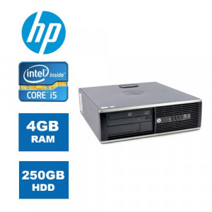 HP PC 8300 SFF, i5-2400, 4/250GB HDD, DVD-RW, MAR Windows 10P, REF SQR MAR10P-PC-093