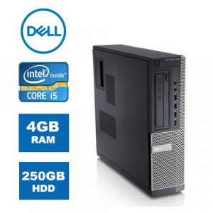 DELL PC 790 DT, i5-2400, 4GB, 250GB HDD, DVD, REF SQR PC-869-SQR