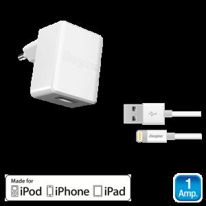 ENERGIZER ACA1AEUCLI3 ΦΟΡΤΙΣΤΗΣ ΛΕΥΚΟΣ ΕU 1Α ΓΙΑ iPhone / iPad