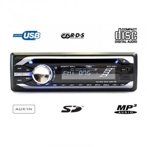 OSIO ACO-5490U ΡΑΔΙΟ / CD-MP3 ΑΥΤΟΚΙΝΗΤΟΥ ΜΕ USB / SD / AUX IN