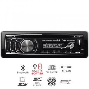 OSIO ACO-5630CUBT ΡΑΔΙΟ CD ΑΥΤΟΚΙΝΗΤΟΥ ΜΕ BLUETOOTH, USB, SD, AUX-IN ΚΑΙ ΑΠΟΣΠΩΜΕΝΗ ΠΡΟΣΟΨΗ