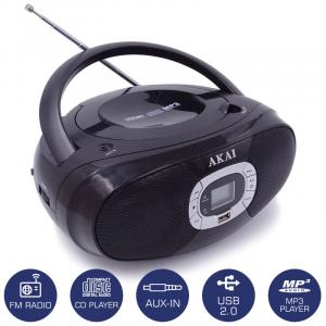 AKAI BM004A-614 ΦΟΡΗΤΟ ΡΑΔΙΟ / CD / USB