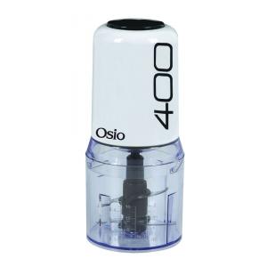 OSIO OMC-2312W MULTI CHOPPER 400W 2 ΛΕΠΙΔΕΣ ΛΕΥΚΟ