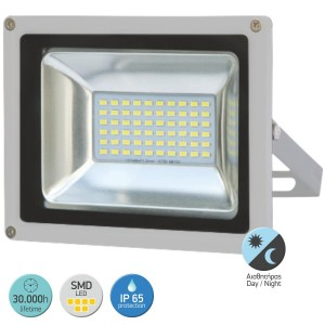 ΠΡΟΒΟΛΕΑΣ LED DAY NIGHT SMD 30W 6000 D.L.
