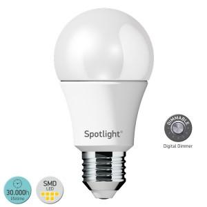 ΛΑΜΠΤΗΡΑΣ LED E27 10WATT 3000 W.W. DIMMABLE