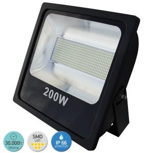 ΠΡΟΒΟΛΕΑΣ LED ΠΛΑΚΕ SMD 200W 6000 D.L.