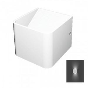 ΑΠΛΙΚΑ ΤΟΙΧΟΥ 5WATT COLD WHITE - 5929 100Χ100Χ80 ΜΜ