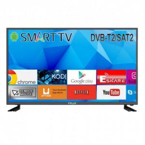 ΤΗΛΕΟΡΑΣΗ Felix FXV-3919 smart tv T2/S2 Led 39'' HD DVB-T2