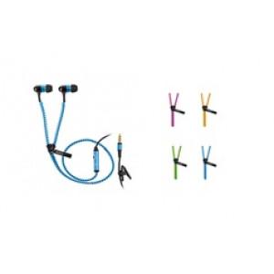 Ακουστικά με φερμουάρ TREVI τύπου In-Ear